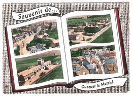 Ouzouer Le Marché (41  - ] Loir Et Cher ) Multi Vues Genre Livre Ouvert - France