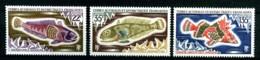 TAAF - 43 / 45 - Poissons - Complet 3 Valeurs - Neufs N** - Très Beaux. - Terres Australes Et Antarctiques Françaises (TAAF)