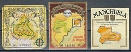 Etiquette D' Espagne  * Lieu De Production * - Etiquettes