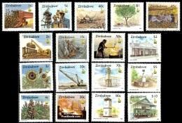 (24+35) Zimbabwe  1995 Definitives / Serie Courante / Freimarken   ** / Mnh  Michel 538-53 + 578 - Zimbabwe (1980-...)