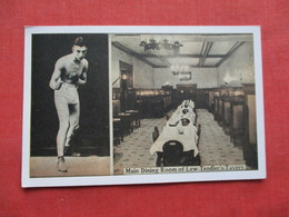 Boxing Lew Tendlers's Tavern Philadelphia Pa   Ref 3281 - Boxing