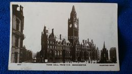 Town Hall From S W Manchester England - Manchester