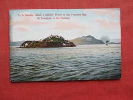 Military Prison  Alcatraz Island  San Francisco Bay Ca.    Ref 3281 - Prison