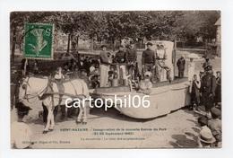 - CPA SAINT-NAZAIRE (44) - Inauguration De La Nouvelle Entrée Du Port 1907 - La Cavalcade : Le Char Des Scaphandriers - - Saint Nazaire