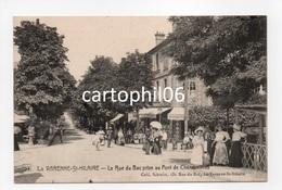 - CPA LA VARENNE-ST-HILAIRE (94) - La Rue Du Bac Prise Au Pont De Chennevières (belle Animation) - - Saint Maur Des Fosses