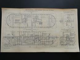 ANNALES PONTS Et CHAUSSEES (Dep 58) - Plan Du Canal De Nivernais - Graveur G.Meyer - 1902 (CLC02) - Public Works