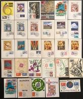 France Cartes Maximum - Lot De 29 Cartes Maximum - Thématique Europa - Cartas Máxima