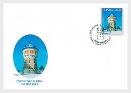 Letland / Latvia - Postfris / MNH - FDC Watertoren 2019 - Letland