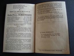 Rufin Borremans Geboren Te Wambeek 1889, Priester Mechelen, Vollezele Lembeek Pastoor Heikruis, Overleden In 1956 - Décès