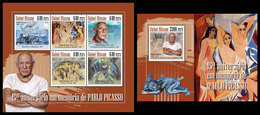 GUINEA BISSAU 2018 - Pablo Picasso. M/S + S/S. Official Issue - Zonder Classificatie