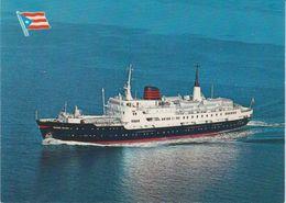 Norway The Express Coastal Liner M/s Kong Olav Postcard Unused (42355) - Paquebote