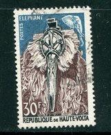 HAUTE VOLTA- Y&T N°84- Oblitéré (masques) - Haute-Volta (1958-1984)