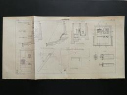 ANNALES PONTS Et CHAUSSEES - Plan Du Maréosiphon - 1902 (CLC04) - Machines