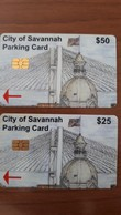 CITY Of Savannah Parking Card USA - Etats-Unis