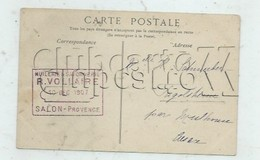 Salon-de-provence (13) : Oblitération De L'Entreprise De Hukerie Savonnerie Vollaire Sur Aliscamps D'Arles En 1907 PF. - Salon De Provence