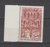 FRANCE / 1968 / Y&T N° 1575 ** : Petits Lits Blancs X 1 BdF G - Francia