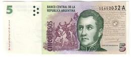 Argentina 5 Pesos 1997 AUNC - Argentina