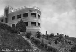 """M07959 """"SAN SALVATORE MONFERRATO-COLONIA SOLARE"""" ARCHITETTURA DEL '900  CART ORIG.  SPED. 1959 - Italia"""