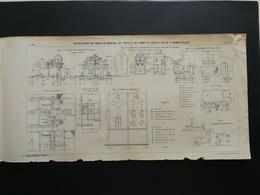 ANNALES PONTS Et CHAUSSEES (Dep 17) - Plan De Manoeuvre Des Portes De La Rochelle-Pallice - Imp.A Gentil - 1916 (CLC05) - Travaux Publics