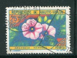 HAUTE VOLTA- Y&T N°123- Oblitéré (fleurs) - Haute-Volta (1958-1984)