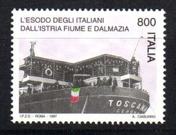 Sello Nº 2277  Italia - Barcos