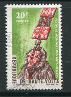 HAUTE VOLTA- Y&T N°156- Oblitéré (masques) - Haute-Volta (1958-1984)