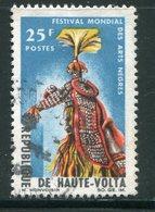 HAUTE VOLTA- Y&T N°157- Oblitéré (masques) - Haute-Volta (1958-1984)