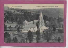 15.- AUZERS .- L' Eglise Et Le Quartier De L' Eglise - Francia
