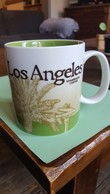 Starbucks Koffie, Coffee Mok/Mug Los Angeles, Collector Series, Global Icon 2008 - Publicité