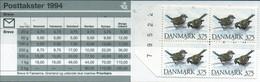 PIA - DAN -1994 : Carnet Di 37,5 Kr -S 73 - Fauna Danese - Uccelli : Passeri  - (Yv C 1089) - Moineaux