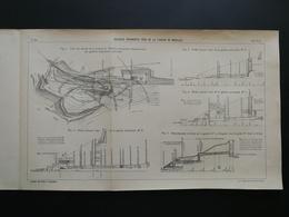 ANNALES PONTS Et CHAUSSEES (Dep 04) - Plan Des Galeries De La Station De Méailles - Imp.A Gentil - 1916 (CLC06) - Travaux Publics