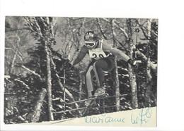 21787 - Marianne Hefti Avec Signature Autographe Ski Alpin Jeux 1972 (format 10 X 15) - Sports D'hiver