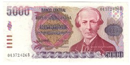 Argentina 5000 Pesos 1984 UNC .C4. - Argentine