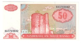 Azerbaijan 50 Manat 1993 UNC .C4. - Azerbaigian