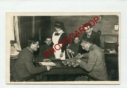 INVALIDES-Travaux-Hospital-Medecine-CARTE PHOTO Allemande-Guerre 14-18-1WK-Militaria- - Oorlog 1914-18