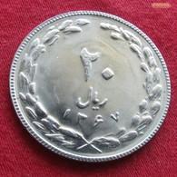 Iran 20 Rials 1988  / SH 1367 KM# 1236 Lt 355   Irão Persia Persien - Iran