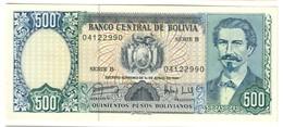 Bolivia 500 Bolivianos 1981 UNC .C4. - Bolivia