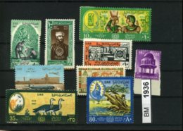 Ägypten, Xx, Konvolut Auf A6-Karte Aus 1967 U.a. - Unused Stamps