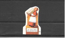 Chromo N° 123 - Le Livre Sacrè - Fromage Franco-suisse - Cromo