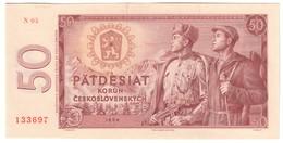 Czechoslovakia 50 Korun 1964 Series N UNC .C4. - Cecoslovacchia