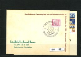DDR 2 Sonderbelege 1984 - Archaeology