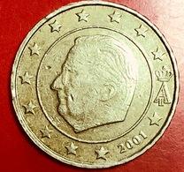 BELGIO - 2001 - Moneta - Re Alberto II - Euro - 0.10 - Belgio