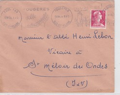 LSC  TOULOUSE-GARE  1959 - Marcophilie (Lettres)