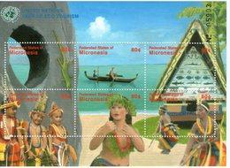MICRONESIE  2002 ANNEE DU TOURISME  YVERT N°1137A/F NEUF MNH** - Vacances & Tourisme