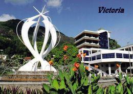 1 AK Seychellen * Ansicht Von Victoria Auf Mahe Island - Victoria Ist Die Hauptstadt Der Seychellen * - Seychellen