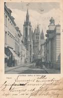 CPA - Belgique - Tournai - Beffroi Et Notre-Dame - Doornik