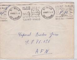 LSC  St MALO  1959 - Marcophilie (Lettres)