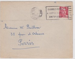LSC  MARSEILLE St FERREOL  1950 - Marcophilie (Lettres)
