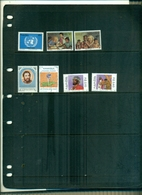 NAMIBIE 50 ONU-UNICEF-100 H.VON STEPHAN-EAU-LA PASSION DE CHRISTE 7 VAL NEUFS A PARTIR DE 0.75 EUROS - Namibie (1990- ...)