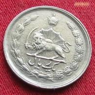 Iran 1 Rial 1973  / SH 1352 KM# 1171a  Lt 295  Irão Persia Persien - Iran